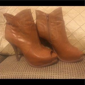 Western style high heels